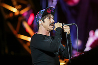 Red Hot Chili Peppers performs at the Festival d'ete de Quebec in Quebec city Saturday July 16, 2016.