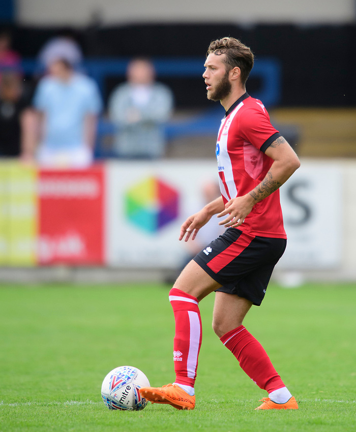 Lincoln City's Jorge Grant<br /> <br /> Photographer Chris Vaughan/CameraSport<br /> <br /> Football Pre-Season Friendly (Community Festival of Lincolnshire) - Gainsborough Trinity v Lincoln City - Saturday 6th July 2019 - The Martin & Co Arena - Gainsborough<br /> <br /> World Copyright © 2018 CameraSport. All rights reserved. 43 Linden Ave. Countesthorpe. Leicester. England. LE8 5PG - Tel: +44 (0) 116 277 4147 - admin@camerasport.com - www.camerasport.com