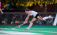 STANFORD, CA - September 3, 2010: Katie Mitchell during a field hockey match against UC Davis in Stanford, California. Stanford won 3-1.