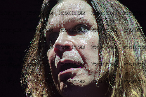 BLACK SABBATH - vocalist Ozzy Osbourne - performing live at the Palais Omnisports de Bercy Paris France - 02 Dec 2013.  Photo credit: Roy Letayf/Dalle/IconicPix