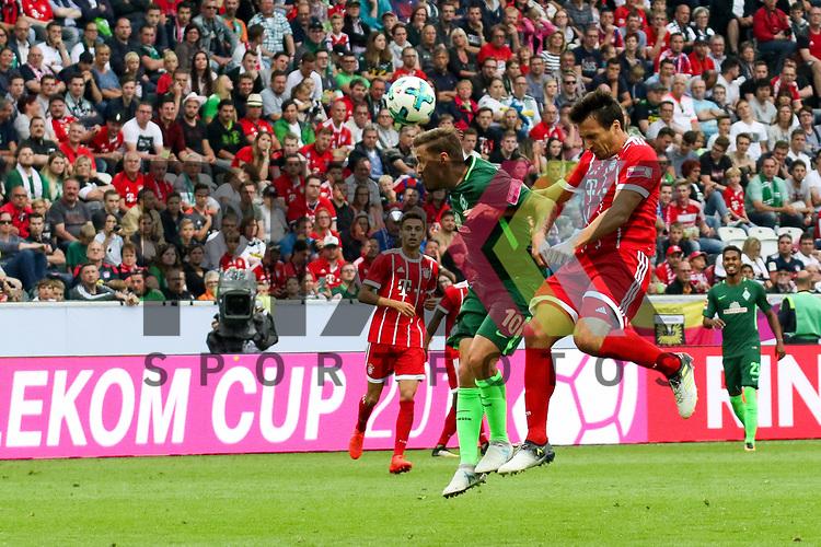 Bremens Max Kruse (Nr.10) mit einer Chance beim Telekom Cup 2017 Bayern Muenchen - Werder Bremen.<br /> <br /> Foto &copy; PIX-Sportfotos *** Foto ist honorarpflichtig! *** Auf Anfrage in hoeherer Qualitaet/Aufloesung. Belegexemplar erbeten. Veroeffentlichung ausschliesslich fuer journalistisch-publizistische Zwecke. For editorial use only.
