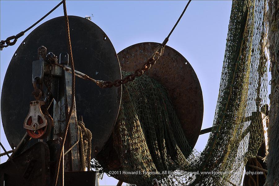 Fishing Boat Gear, Menemsha, Martha's Vineyard