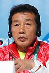 Yuji Takada (JPN), <br /> AUGUST 21, 2016 : Seiko Hashimoto, Yasuhiro Yamashita, Yuji Takada attend a press conference at Main Press Center during the Rio 2016 Olympic Games in Rio de Janeiro, Brazil. <br /> (Photo by Sho Tamura/AFLO SPORT)
