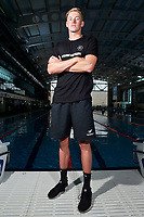 Daniel Hunter, New Zealand swimming team announcement for the 2018 Commonwealth Games. Sir Owen G. Glenn National Aquatic Centre, Auckland. 22 December 2017. Copyright Image: William Booth / www.photosport.nz