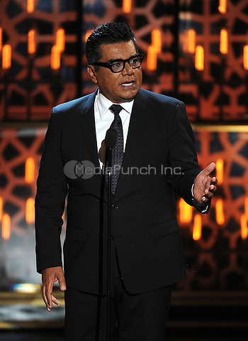BEVERLY HILLS, CA - APRIL 11: George Lopez appears on the 2015 TV Land Awards at the Saban Theater on April 11, 2015 in Beverly Hills, California. FMPG/MediaPunch