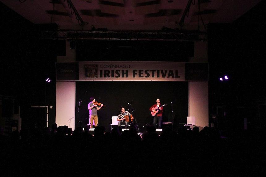 Copenhagen Irish Festival 2013 Sock in the frying pan concert