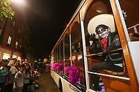 Desfile. Catrina en Queretaro