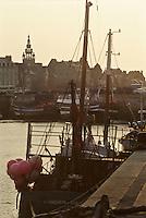 Europe/France/Bretagne/29/Finistère/Léon/Roscoff: Bateaux de pêche au port