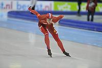 SCHAATSEN: HEERENVEEN: 26-12-2013, IJsstadion Thialf, KNSB Kwalificatie Toernooi (KKT), 1000m, Margot Boer, ©foto Martin de Jong