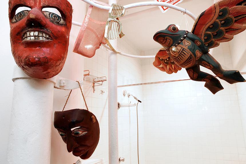 hanging masks