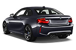 Car pictures of rear three quarter view of a 2017 BMW M2 Base 2 Door Coupe angular rear