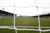 A general view of Rodney Parade prior to kick off of the Fly Emirates FA Cup Fourth Round match between Newport County and Tottenham Hotspur at Rodney Parade, Newport, Wales, UK. Saturday 27 January 2018
