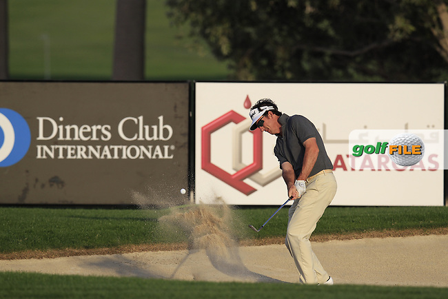 Gonzalo Fernandez-Castano (ESP) in action during Tueday's  Pro-Am Day of the Commercial Bank Qatar Masters 2013 at Doha Golf Club, Doha, Qatar 22nd January 2013 .Photo Eoin Clarke/www.golffile.ie