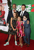WESTWOOD, CA - NOVEMBER 5: Mel Gibson, Mark Wahlberg, Scarlett Estevez, Didi Costine and Owen Vaccaro at the premiere of Daddy's Home 2 at the Regency Village Theater in Westwood, California on November 5, 2017. Credit: Faye Sadou/MediaPunch