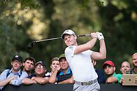 Danny Willett (ENG) in action on the 9th hole during the first round of the 76 Open D'Italia, Olgiata Golf Club, Rome, Rome, Italy. 10/10/19.<br /> Picture Stefano Di Maria / Golffile.ie<br /> <br /> All photo usage must carry mandatory copyright credit (© Golffile | Stefano Di Maria)