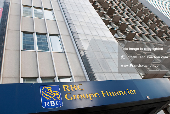 An RBC Groupe Financier (RBC Financial Group) branch office is pictured in Montreal Thursday October 25, 2012. The Royal Bank of Canada (in French, Banque Royale du Canada, and commonly RBC in either language) is the largest financial institution in Canada, which is measured by deposits, revenues, and market capitalization.