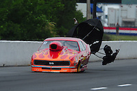 May 13, 2011; Commerce, GA, USA: NHRA pro mod driver Rickie Smith during qualifying for the Southern Nationals at Atlanta Dragway. Mandatory Credit: Mark J. Rebilas-