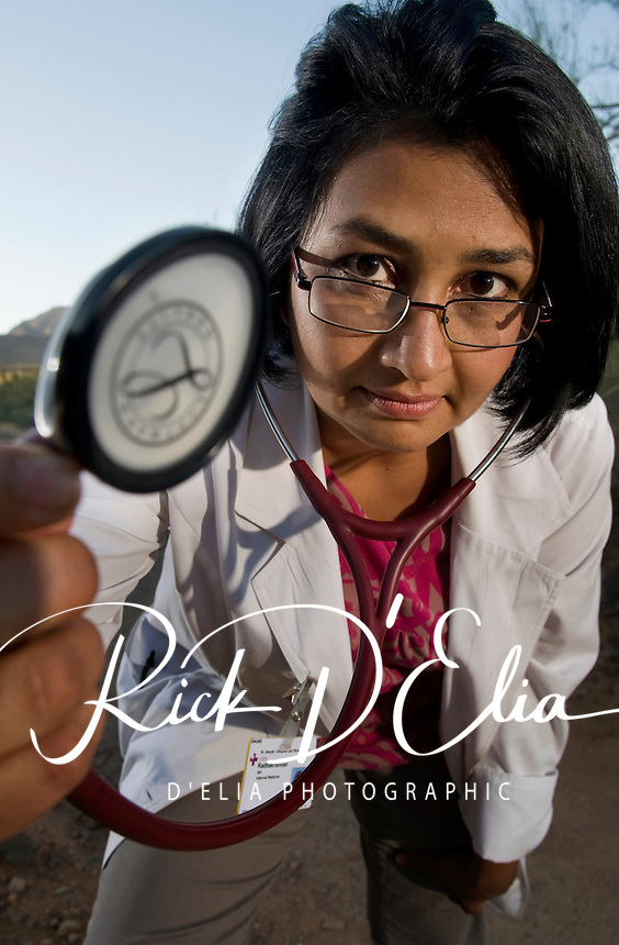 Dr. Priya Radhakrishna prefers to refer to the progression of aging, the phenomenon of blooming, during which people should strive to eat less and excercise more. She and her family often take walks in the McDowell Mountain Preserve to get their excercise.
