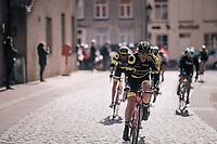 town cobbles<br /> <br /> Driedaagse Brugge-De Panne 2018<br /> Bruges - De Panne (202km)