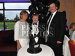 Conor McIntyre celebrating his 30th birthday in Ardee Golf Club pith parents Kevin and Patricia. . Photo:Colin Bell/pressphotos.ie