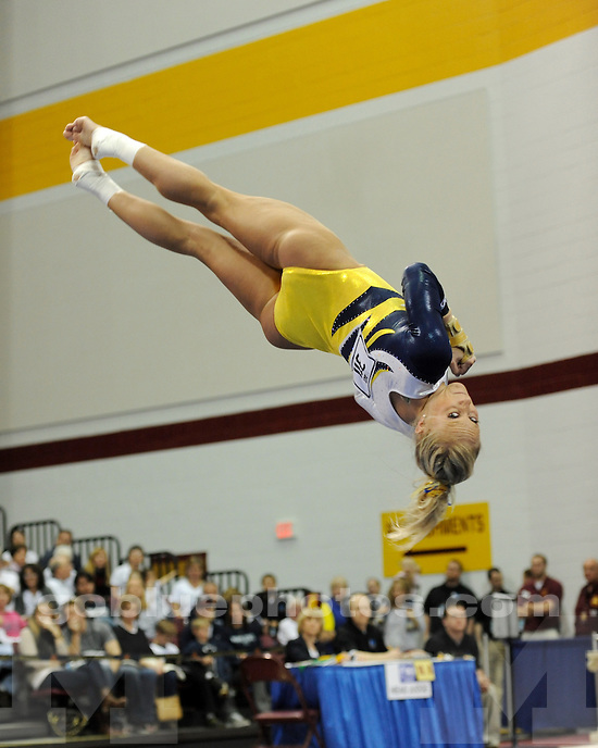 The University of Michigan women's gymnastics team won their fifth straight Big Ten Championship on March 19, 2011, at the University of Minnesota.
