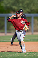 Arizona Diamondbacks Joey Rose (16) during an Instructional League game against the Colorado Rockies on October 7, 2016 at Salt River Fields at Talking Stick in Scottsdale, Arizona.  (Mike Janes/Four Seam Images)