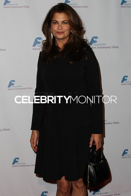 BEVERLY HILLS, CA - NOVEMBER 25: Model Kathy Ireland arrives at the Saban Community Clinic 37th Annual Dinner Gala held at The Beverly Hilton Hotel on November 25, 2013 in Beverly Hills, California. (Photo by Xavier Collin/Celebrity Monitor)