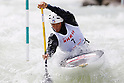 Takuya Haneda (JPN), APRIL 15, 2012 - Canoeing : 2012 Canoeing NHK Cup Slalom Competitions, Men's Canadian Single race semi final at Ida River, Toyama, Japan. (Photo by Yusuke Nakanishi/AFLO SPORT) [1090]
