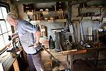 Brush maker, Zuiderzee museum, Enkhuizen, Netherlands