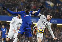 TiÈmouÈ Bakayoko of Chelsea and James McArthur of Palace <br /> Londra 10-03-2018 Premier League <br /> Chelsea - Crystal Palace<br /> Foto PHC Images / Panoramic / Insidefoto <br /> ITALY ONLY