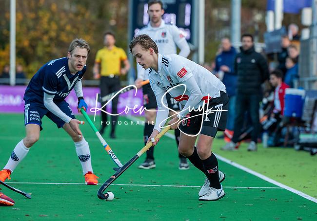 AMSTELVEEN - Floris Middendorp (Adam)  tijdens de competitie hoofdklasse hockeywedstrijd heren, Pinoke-Amsterdam (1-1)   COPYRIGHT KOEN SUYK