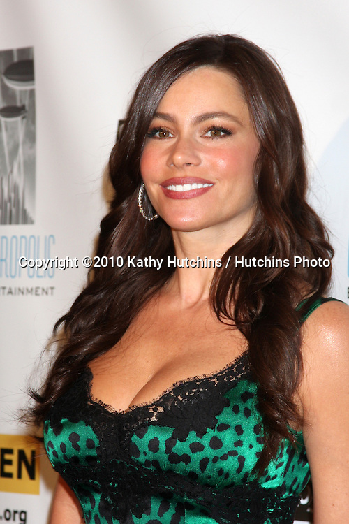 LOS ANGELES - OCT 8:  Sofia Vergara arrives at the Gay, Lesbian and Straight Education Network  Respect Awards at Beverly Hills Hotel.Theatre on October 8, 2010 in Beverly Hills, CA