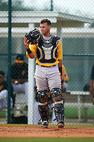 Pittsburgh Pirates Yoel Gonzalez (52) during an instructional league intrasquad black and gold game on September 18, 2015 at Pirate City in Bradenton, Florida.  (Mike Janes/Four Seam Images)