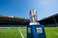 Picture by Allan McKenzie/SWpix.com - 14/05/2018 - Rugby League - Dacia Magic Weekend 2018 Preview - St James Park, Newcastle, England - The Betfred Super League trophy at St James' Park for the Dacia Magic Weekend.