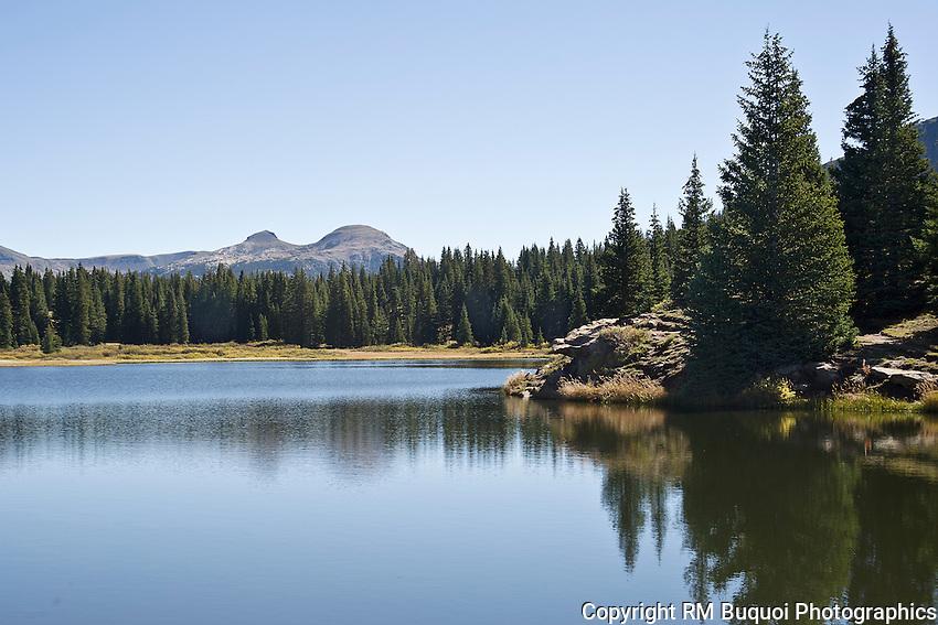 Lake Andrew between Durango and Silverton, Colorado