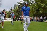 Hideki Matsuyama (JPN) heads down 18 during round 4 of the World Golf Championships, Mexico, Club De Golf Chapultepec, Mexico City, Mexico. 2/24/2019.<br /> Picture: Golffile | Ken Murray<br /> <br /> <br /> All photo usage must carry mandatory copyright credit (© Golffile | Ken Murray)