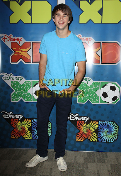 HUTCH DANO.Disney/ABC Television Group Press Junket held At The ABC Television Network Building, Burbank, California, USA..May 15th, 2010.full length jeans denim blue t-shirt hands in pockets.CAP/ADM/KB.©Kevan Brooks/AdMedia/Capital Pictures.
