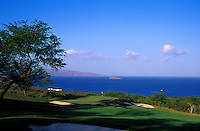 Makena North hole number 13 designed by Robert Trent Jones II on Maui