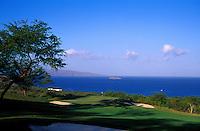 Makena North hole number 13 designed by Robert Trent Jones II on Maui