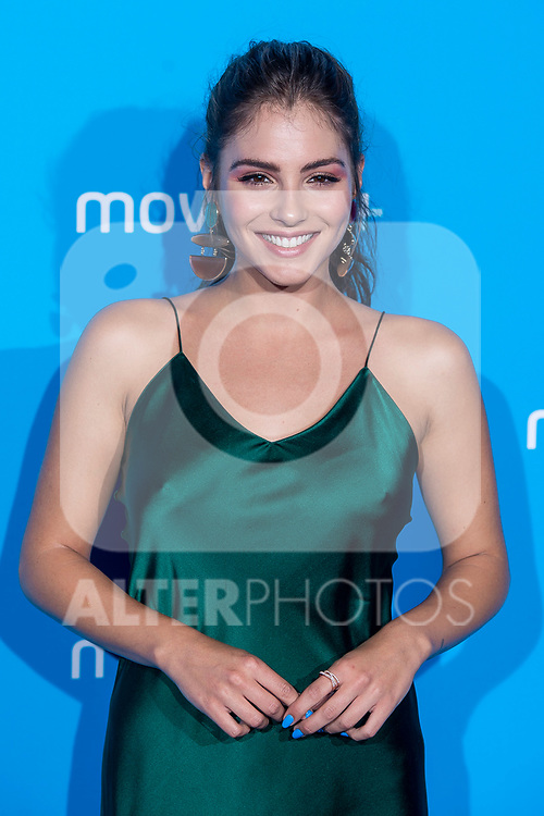 Andrea Duro attends to blue carpet of presentation of new schedule of Movistar+ at Queen Sofia Museum in Madrid, Spain. September 12, 2018. (ALTERPHOTOS/Borja B.Hojas)