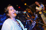 Rocks, Kaohsiung -- Carol Avila of LA CUMBIA DEL SOL live on stage.