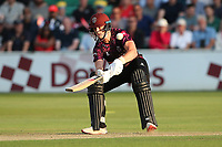 Tom Abell of Somerset plays the ramp shot for 6 runs during Essex Eagles vs Somerset, Vitality Blast T20 Cricket at The Cloudfm County Ground on 7th August 2019