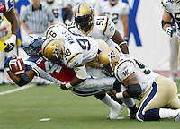 Gavin Walls Winnipeg Blue Bombers. Photo Scott Grant