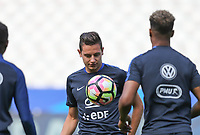 Florian Thauvin (Marseille) of France during the France National Team Training session ahead of the match with England tomorrow evening at Stade de France, Paris, France on 12 June 2017. Photo by David Horn / PRiME Media Images.
