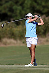 16 October 2016: UNC's Mariana Ocano. The Final Round of the 2016 Ruth's Chris Tar Heel Invitational NCAA Women's Golf Tournament hosted by the University of North Carolina Tar Heels was held at the UNC Finley Golf Club in Chapel Hill, North Carolina.