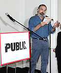 Mandy Patinkin attending the Unveiling of the Revitalized Public Theater at Astor Place in New York City on 10/4/2012.