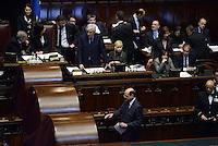 Roma, 20 Aprile 2013.Camera dei Deputati.Votazione del Presidente della Repubblica a camere riunite..Pier Luigi Bersani al voto