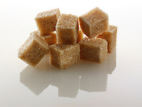 Brown Demerara Sugar cubes