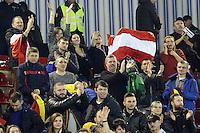 suporterii Austriei se bucura la finalul meciului