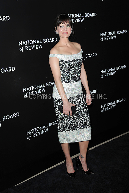 WWW.ACEPIXS.COM<br /> January 6, 2015 New York City<br /> <br /> Carla Gugino attending the 2014 National Board of Review Gala at Cipriani 42nd Street on January 6, 2015 in New York City.<br /> <br /> Please byline: Kristin Callahan/AcePictures<br /> <br /> ACEPIXS.COM<br /> <br /> Tel: (212) 243 8787 or (646) 769 0430<br /> e-mail: info@acepixs.com<br /> web: http://www.acepixs.com
